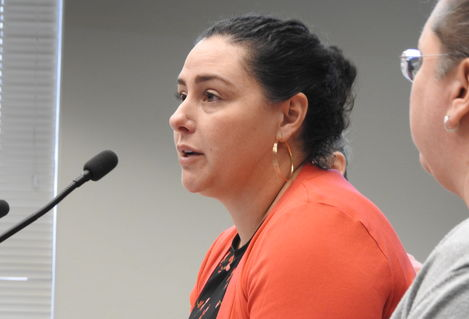 Amy Shaffer testifying testing Olympia