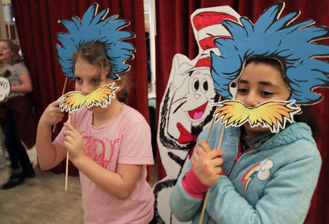 Dr Seuss photo booth