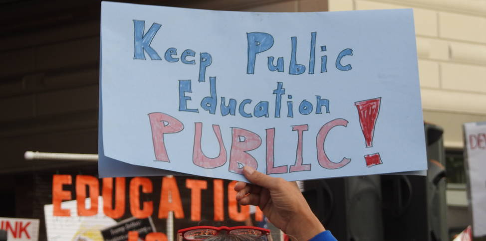 Keep public education public
