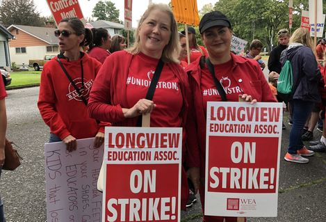 Longview strike