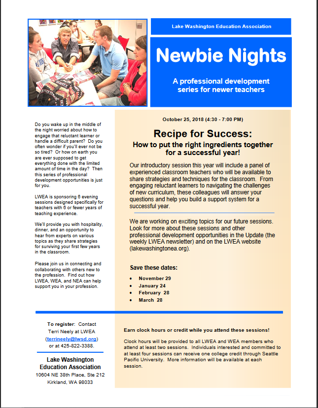 Professional Development Catalog | Washington Education Association
