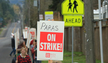PAPEA 2018 Strike Day 1