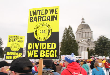 United we Bargain Divided we Beg