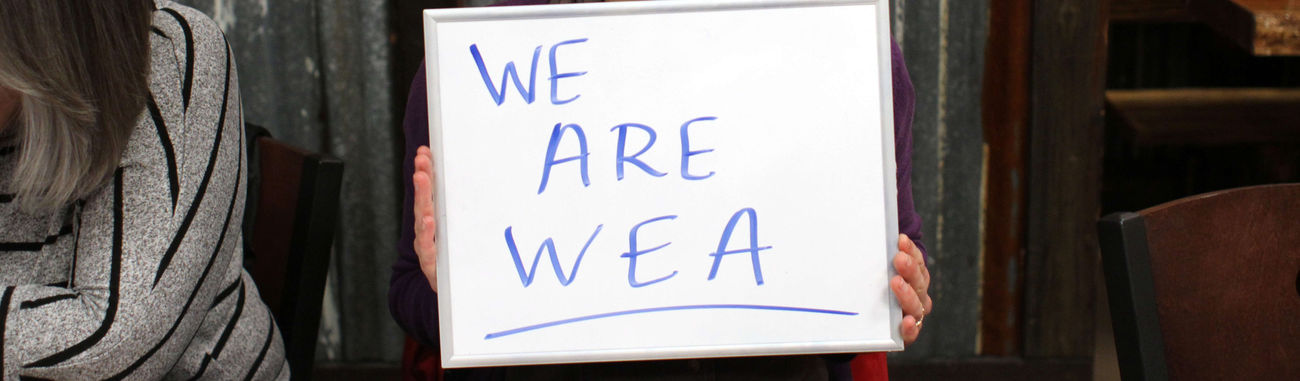 WE Are WEA