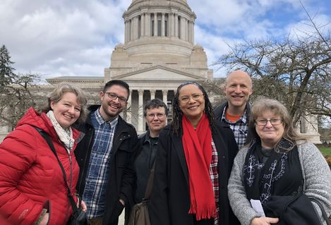 WEA Lobby Day 2019 higher ed